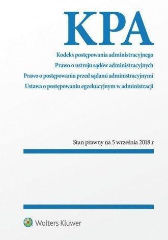 Kodeks postępowania administracyjnego w.2018