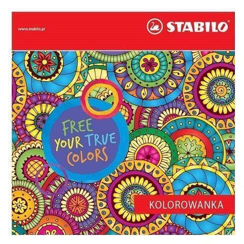 Kolorowanka dla Dorosłych STABILO