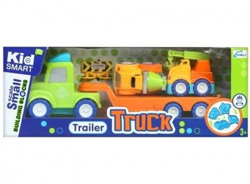 Auto ciężarowe z akcesoriami