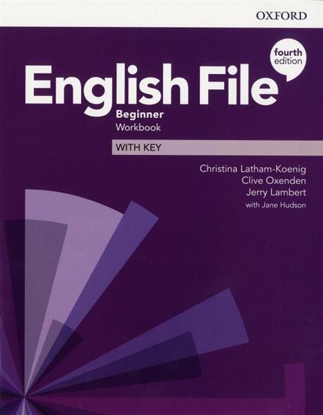 English File 4E Beginner WB + key OXFORD