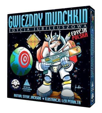 Gwiezdny Munchkin - Edycja Jubileuszowa BLACK MONK