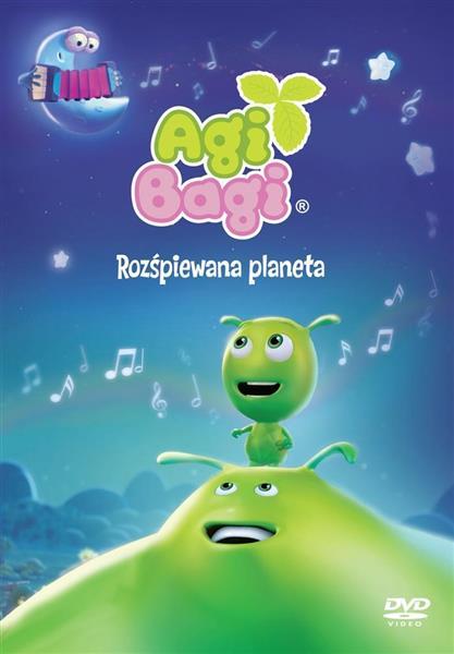 Agi Bagi - Rozśpiewana planeta DVD-307169