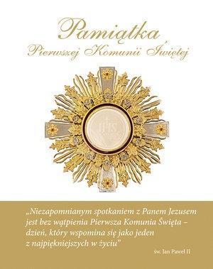 Pamiątka Pierwszej Komunii Świętej (hostia)-326191
