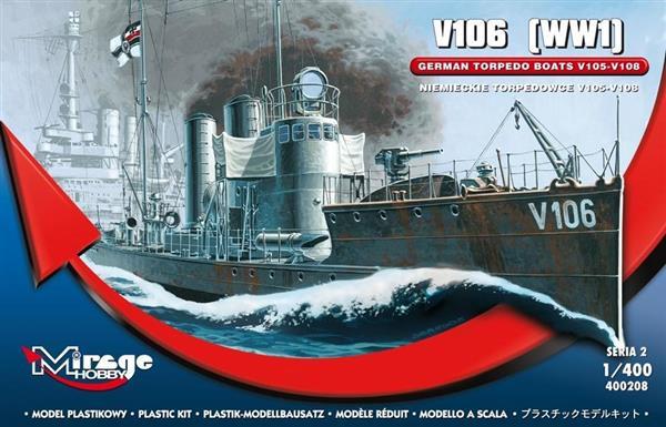 Okręt Torpedowy V 106 Niemiecki-304406