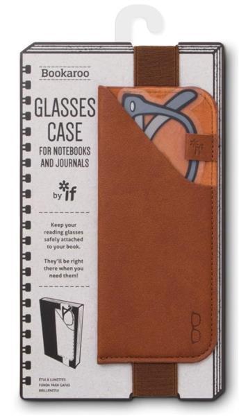 Bookaroo Glasses case Uchwyt na okulary brązowy