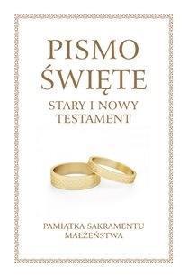 Pismo Święte ST i NT duże - Pam. Sakr. Małżeństwa