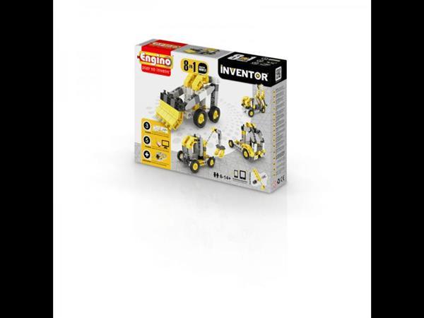 Inventor 8 models industrial - budowa
