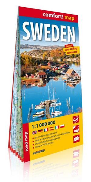 Comfort! map Szwecja (Sweden) 1:1 000 000