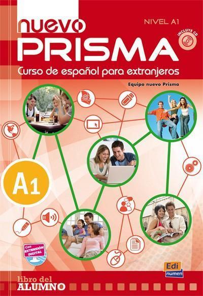 Nuevo Prisma nivel A1 podręcznik +CD EDI-NUMEN