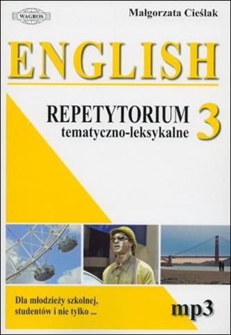 English. Repetytorium 3 tem-leks.+ MP3 WAGROS