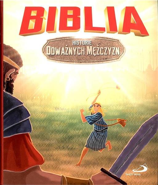 BIBLIA HISTORIE ODWAŻNYCH MĘŻCZYZN BR OUTLET