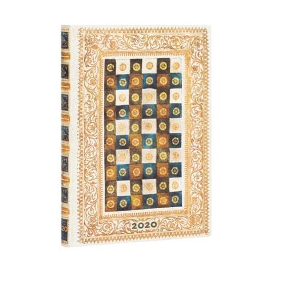 Kalendarz książkowy mini 2020 12M hor. Aureo