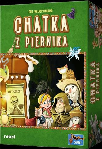 Chatka z piernika REBEL