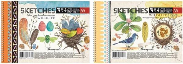 Szkicownik A5/12K 190g/m2 FRESH