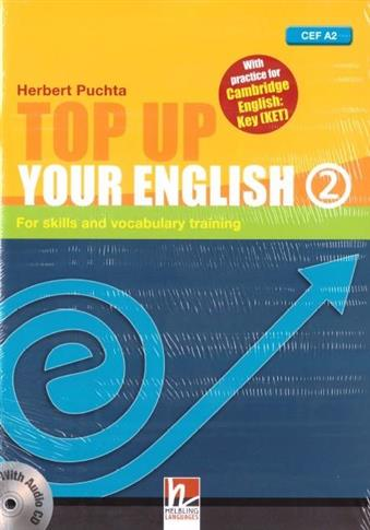 Top Up Your English 2 A2 + audio CD