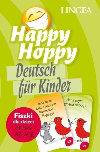 Happy Hoppy. Fiszki dla dzieci. Cechy i relacje