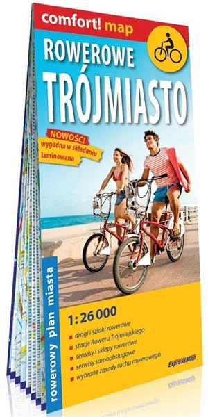 Comfort! map rowerowe Trójmiasto 1:26 000 plan