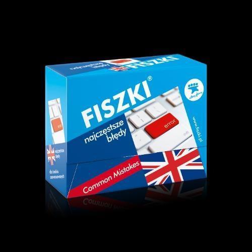 Angielski. Fiszki - Najczęstrze błędy
