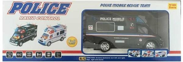 Auto policyjne na radio 22 cm mix