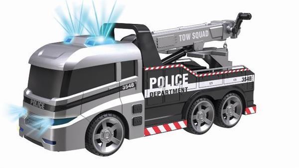 Flota Miejska Ciężarówka Policyjna