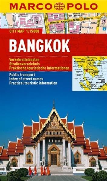 Plan Miasta Marco Polo. Bangkok