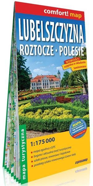 Comfort! map Lubelszczyzna, Roztocze, Polesie mapa