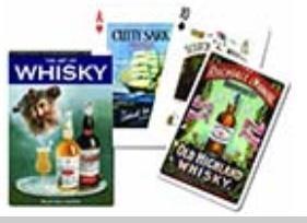 Karty pojedyńcze Whisky PIATNIK