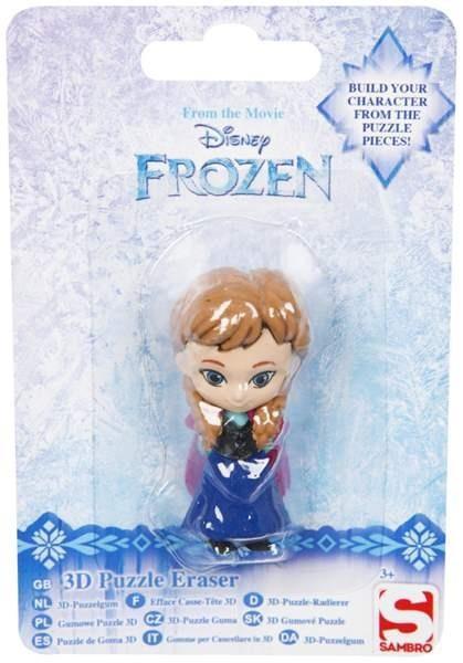 Figurka - gumka do mazania Frozen Anna