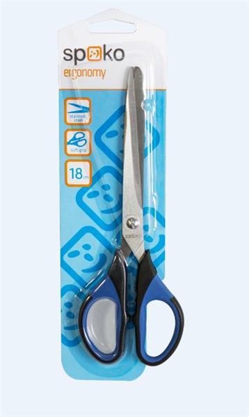 Nożyczki biurowe S053 18cm SPOKO