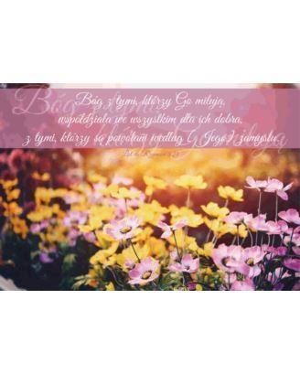 A Kartka składana - Bóg z tymi którzy go miłują