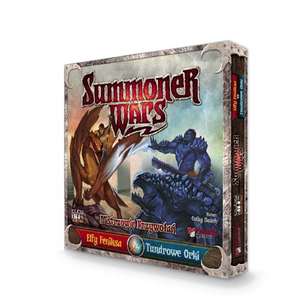 Summoner Wars Elfy Feniksa & Tundrowe Orki CUBE