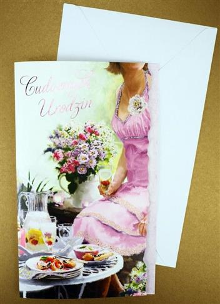 Karnet Urodziny + koperta ARGUS