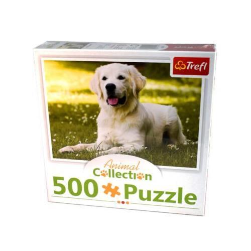 Puzzle 500 Trefl - piesek