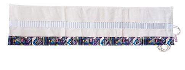 Etui na kredki 48szt wiązane kolorowe