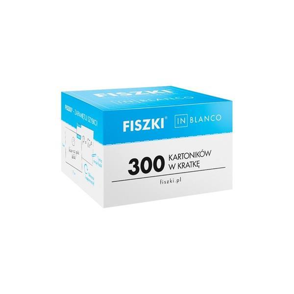 Fiszki in blanco 300