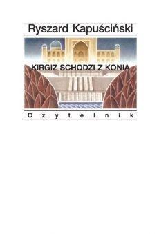 Kirgiz schodzi z konia
