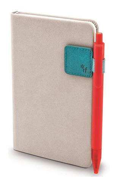 Bookaroo pen Holder Uchwyt na długopis turkusowy