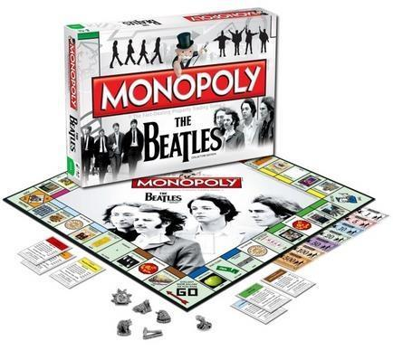 Monopoly The Beatles wersja angielska