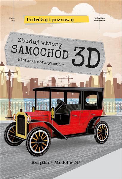 Zbuduj własny samochód 3D. Podróżuj, ucz się i poz