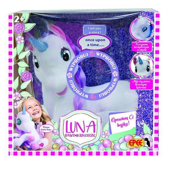 Luna - interaktywny jednorożec