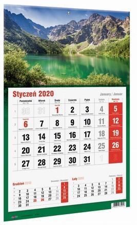 Kalendarz 2020 KTJ Jednodzielny MIX AVANTI