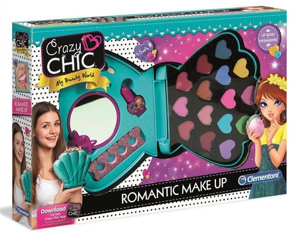 Crazy Chic. Romantyczny makijaż