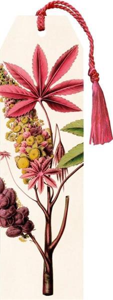 Zakładka 43 ze wstążką Palma różowa