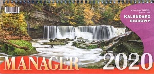 Kalendarz 2019 Biurowy Manager TELEGRAPH