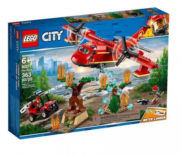 Lego CITY 60217 Samolot strażacki