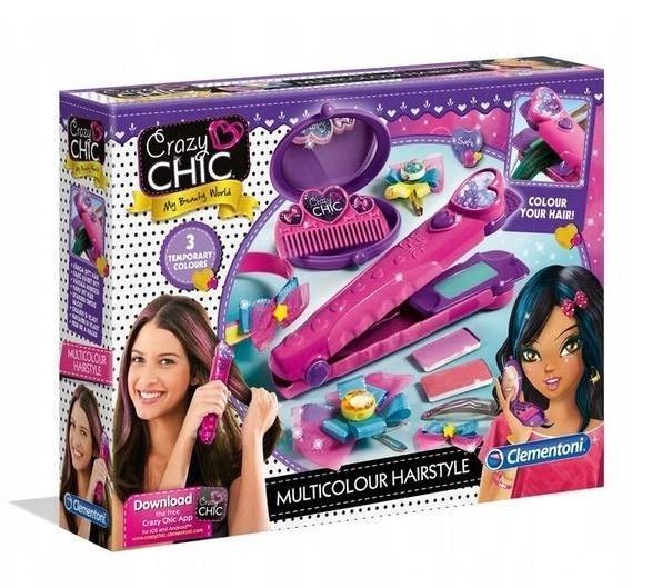 Crazy Chic Kolorowe fryzury