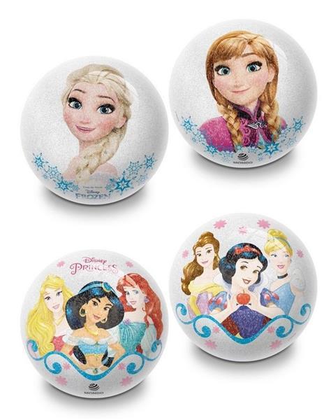 Piłka błyszcząca Frozen & Princess 10 cm
