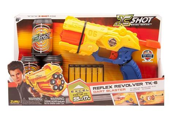 X-Shot Reflex Revolver