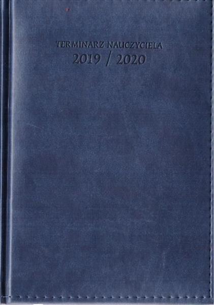 Terminarz Nauczyciela 2019/2020A5 Vivella granat