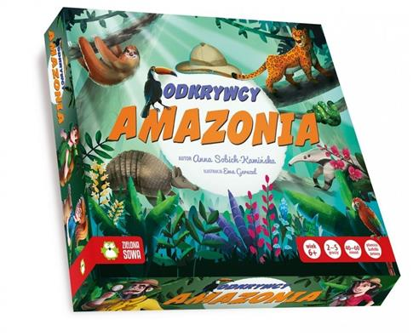 GRA. Odkrywcy: Amazonia NOWE